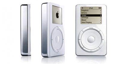 iPod vuodelta 2001.
