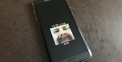 Samsung Galaxy S7 edge AOD