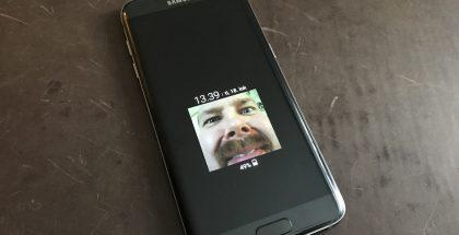 Samsung Galaxy S7 edge AOD