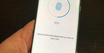 Kotinäppäin sormenjälkitunnistin Samsung