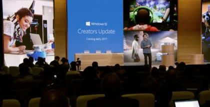 Windows 10 Creators Update.