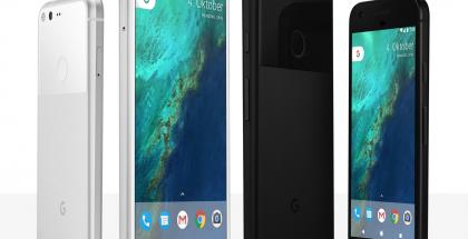 Googlen alkuperäiset Pixel ja Pixel XL.