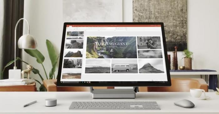 Surface Studio.