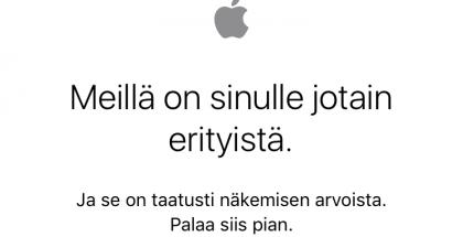 Apple store alhaalla
