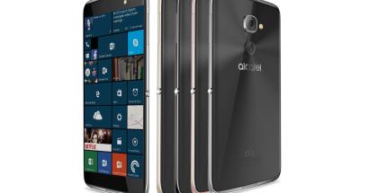 Alcatelin uusi Windows 10 -puhelin.