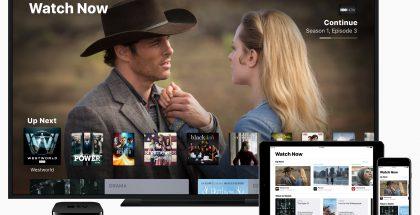 Applen TV-sovellus.