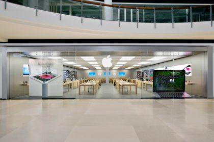 Applen myymälä.