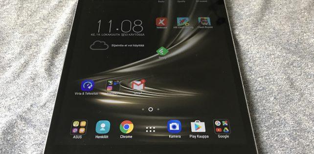 Arvostelussa Asus ZenPad 3S 10 – laadukkaan tuntuisessa tabletissa yksi kompastuskivi