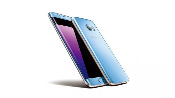 Samsung Galaxy S7 edge saa uuden Blue Coral -värin myyntiä piristämään.