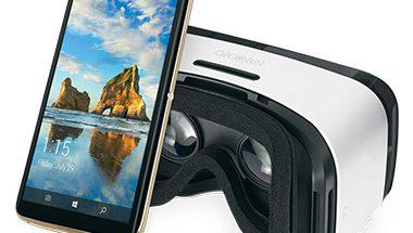 Alcatel Idol 4S:ää myydään VR-lasien kanssa.