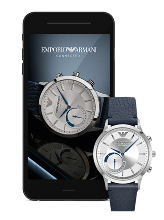 Emporio Armani Connected yhdistää perinteiseen kelloon ...