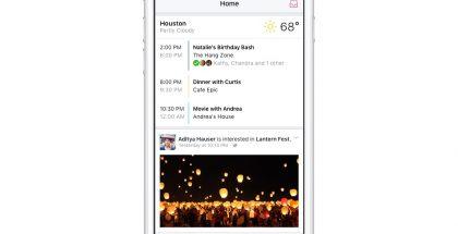 Events from Facebook yhdistää kaiken tiedon Facebook-tapahtumista.
