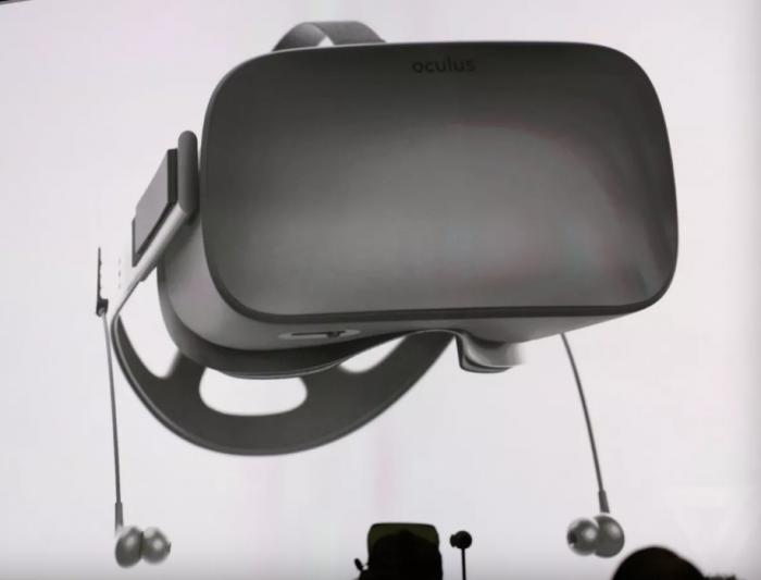 Oculus Riftille in-ear-nappikuulokkeet.