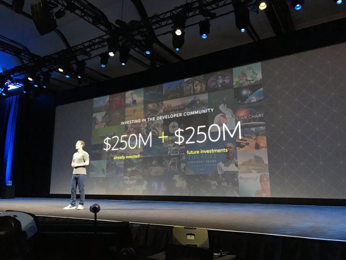 Facebook panostaa kovin VR:ään.