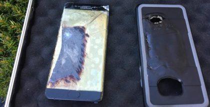 Nicholasvillessä aiemmin pamahtanut Galaxy Note7.