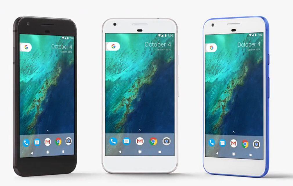Googlen Pixel.