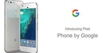 Pixel-puhelimet ovat ensimmäiset Googlelta.