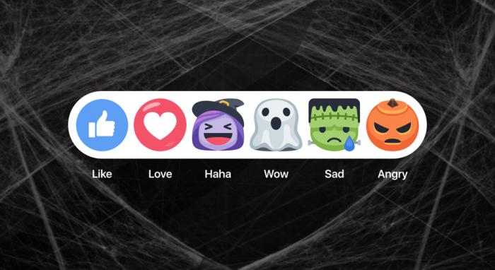 halloween reaktiot facebook