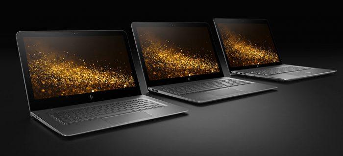 HP:n uusia ENVY-läppäreitä.