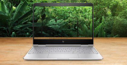 Uudessa HP Spectre x360:ssa on aiempaa pienemmät näytön sivureunukset.