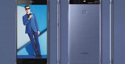 Huawei P9 uutena sinisenä värivaihtoehtona.