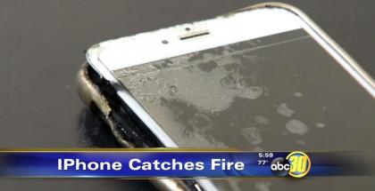 Fresnossa räjähtänyt iPhone 6 Plus.