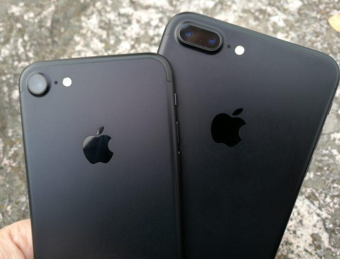 iPhone 7:n kamera on aivan samanlainen kuin iPhone 7 Plussan kameroista toinen.