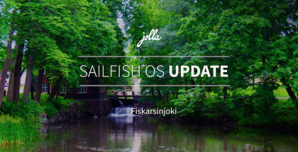 Jolla Sailfish OS Fiskarsinjoki.