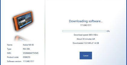 Nokia Software Recovery Tool toimii jälleen.