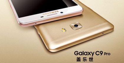 Samsung Galaxy C9 Pro.