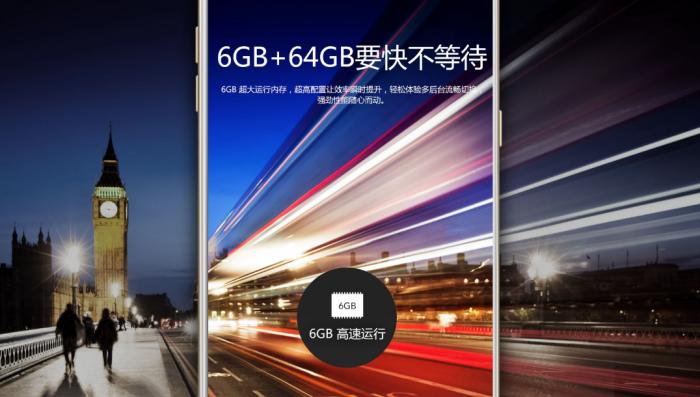 Galaxy C9 Prossa on paljon RAMia.