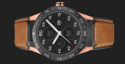 TAG Heuer Connectedin uusi Rose Gold -malli.