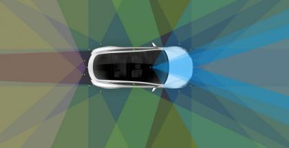 Teslan parannettu Autopilot.