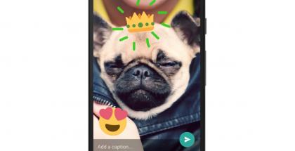 WhatsAppissa onnistuu nyt kuvien ja videoiden koristelu.
