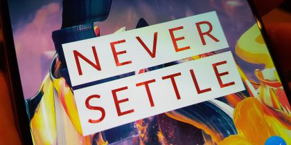 OnePlus 3 3T Never Settle
