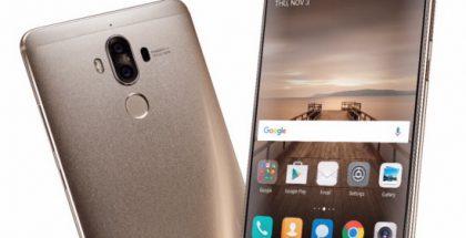 Viime vuoden marraskuussa esitelty Huawei Mate 9.