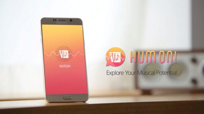 Samsung C-Lab Hum on!