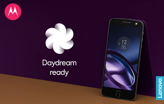 Moto Z Android Nougat Daydream