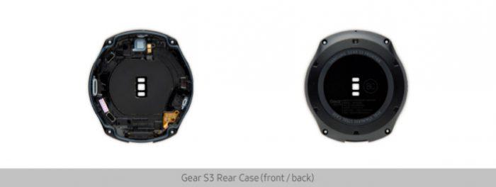 Gear S3 purkukuvat