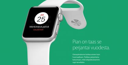 Myös Applen Suomen verkkokaupassa vietetään jälleen black fridaytä.