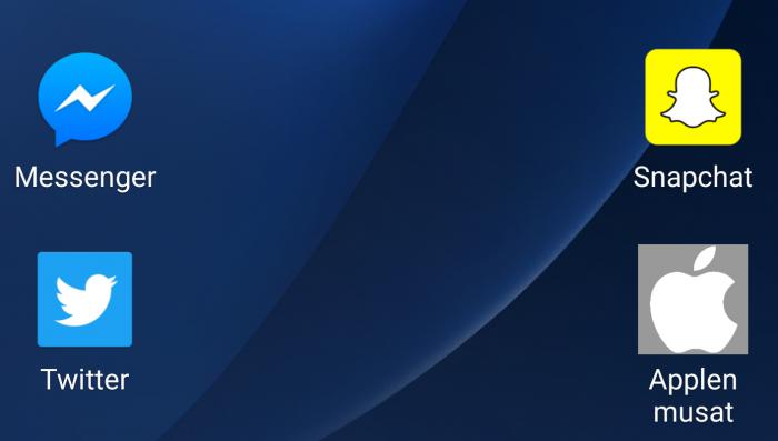 Awesome icons Android-kuvakkeet