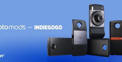 Moto Mods Motorola Indiegogo