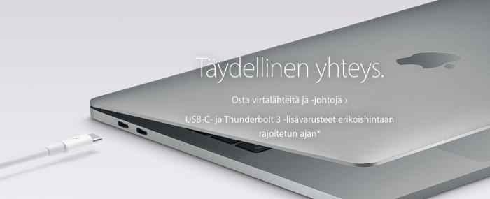 Applen USB-C-ale on tulossa päätökseensä.