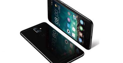 Gionee S9:n musta värivaihtoehto on kiiltävä Applen iPhone 7:n peilimustan tavoin.