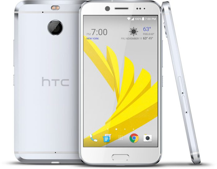 HTC Bolt hopeisena.