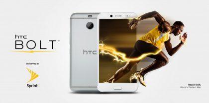 Yhdysvalloissa HTC:n uutuuspuhelin Bolt saa vetoapua Usain Boltilta.