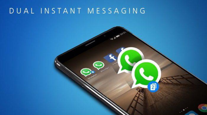 EMUI 5.0:ssa voi olla kaksi WhatsAppia tai kaksi Facebookia.