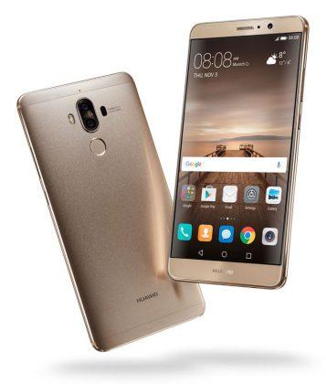Huawei Mate 9.