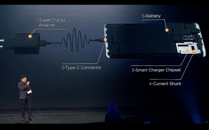 Huawei Mate 9:n latausarkkitehtuuri.