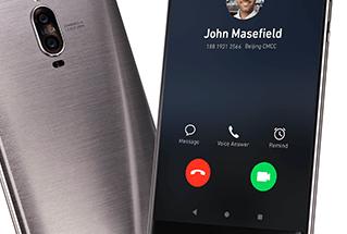 Huawei Mate 9 Pro.